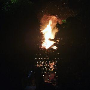Dar Soukarr Palm Tree Fire