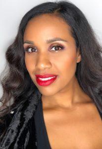NYX red carpet glitter eye makeup demo
